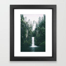 Toketee Falls Framed Art Print