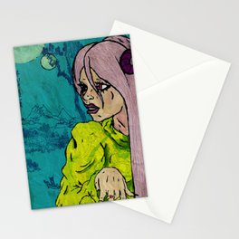 The Sorceress  Stationery Cards