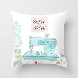 Sew & Sew Throw Pillow