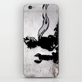 The little prince and the fox - stencil for the LIFE CURRENT WALL series iPhone Skin
