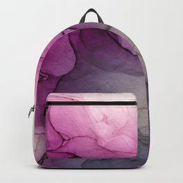 Enchanted 3 - abstract alcohol inks marble Backpack