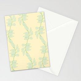 Cute Trailing Leaf Pattern Stationery Cards