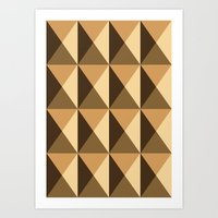copper Art Prints featuring Copper by Fernanda Fattu