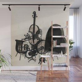Musical Chairs Wall Mural