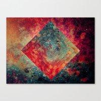 square Canvas Prints featuring Random Square by Esco