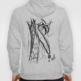 Abstract Squiggle  Hoody