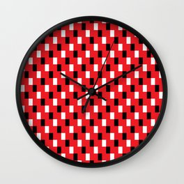 Square Stairs Wall Clock