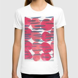 30   | 190408 Red Abstract Watercolour T-shirt