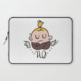 Little girl says : no way ! Laptop Sleeve