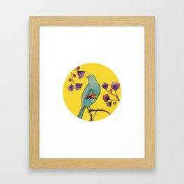 ce que la vie nous donne Framed Art Print