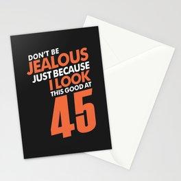 Don't Be Jealous 45 Stationery Cards