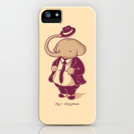 Eleg-phant iPhone Case