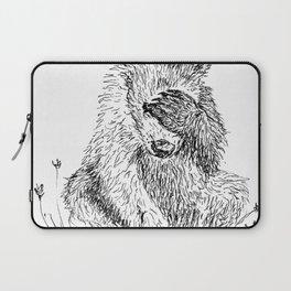 Shy Bear Laptop Sleeve