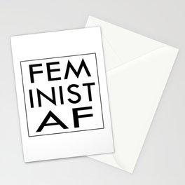 Feminist AF Stationery Cards