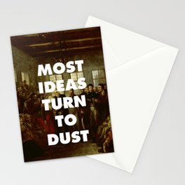 Moat Ideas Turn to Dust Stationery Cards