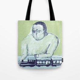 train keeper Tote Bag