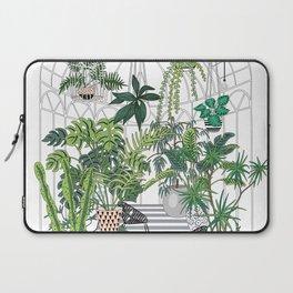greenhouse illustration Laptop Sleeve