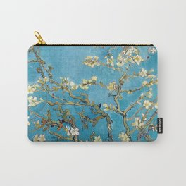 Almond Blossom Vincent Van Gogh Blue Carry-All Pouch