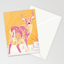 Stag Points Stationery Cards