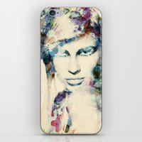tiffany iPhone & iPod Skins featuring Tiffany by grafiklab