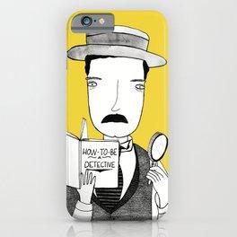 Sherlock Jr. iPhone Case