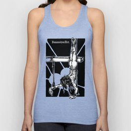 Insanity n Art's Society Desides the Crucified. Unisex Tank Top