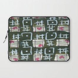 Tic Tac Hearts Laptop Sleeve