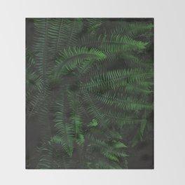 Fern Life Throw Blanket