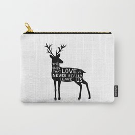 Sirius Black deer quote  Carry-All Pouch