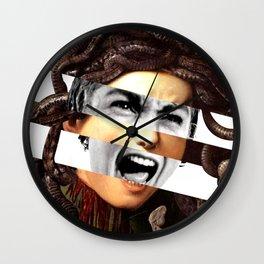 Caravaggio's Medusa & Psycho Wall Clock