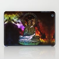 buddah iPad Cases featuring Buddah - San Francisco Japanese Tea Garden by kreatox