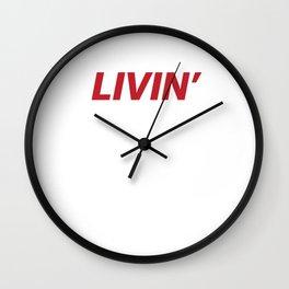Livin' Wall Clock