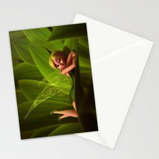 Leaves Fairy Stationery Cards