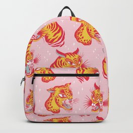Tigerpop pattern Backpack