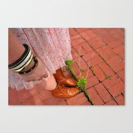 Witcover Street - Grow A Little Canvas Print