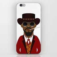 django iPhone & iPod Skins featuring DJANGO by Capitoni