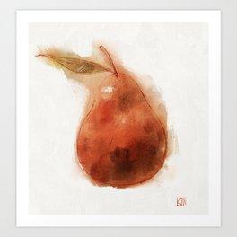 Perfect Pear Art Print