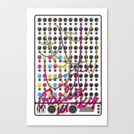 RADIO JUNKY SEQUENCER Canvas Print