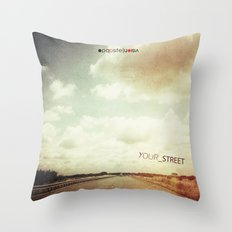 your street Throw Pillow