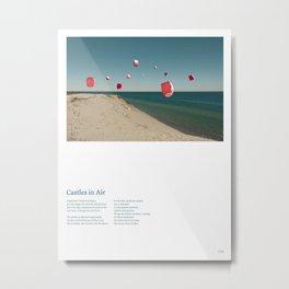 Castles in Air (w/ Lyrics) Metal Print