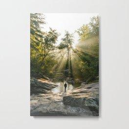 Panther Falls, VA Metal Print