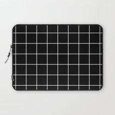 Black Grid  Laptop Sleeve