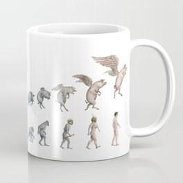 Darwin's Inspiration Mug Coffee Mug