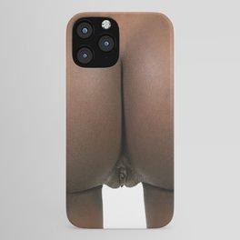 Beautiful Bare Petite Female Buttocks iPhone Case