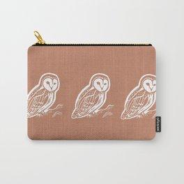 Barn Owl Art Carry-All Pouch