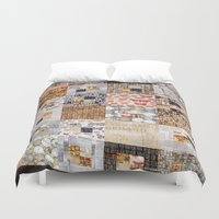 quilt Duvet Covers featuring Quilt by Shenreice