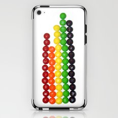 Skittle Stats iPhone & iPod Skin