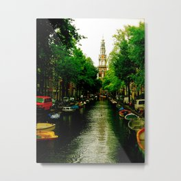 The Colours of Amsterdam Metal Print