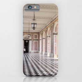 Pretty in Pink - The Grand Trianon at the Palace of Versailles iPhone Case