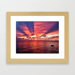 The Colors of Barbados Framed Art Print